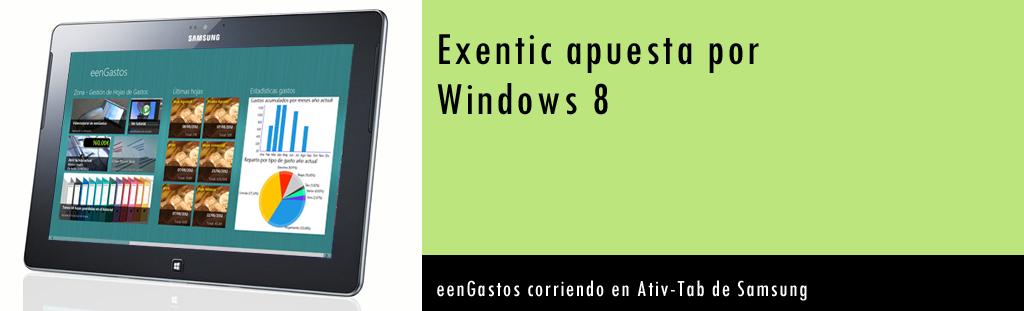 eXentic presente en la tienda de Windows 8