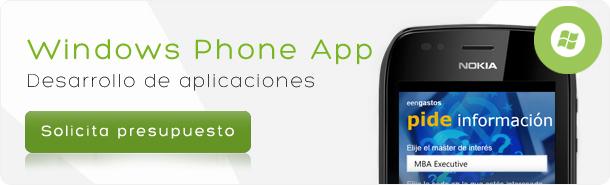 Desarrollo para Windows Phone