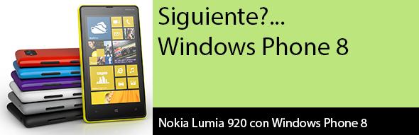 Y ahora toca… Desarrollo en Windows Phone 8
